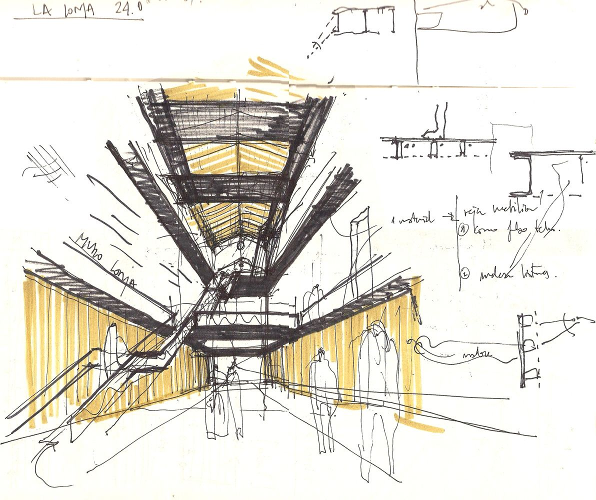 Boceto-de-materialidad | Croquis arquitectura, Bocetos arquitectónicos,  Dibujo de arquitectura