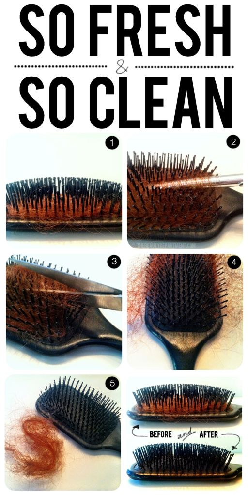 How To Properly Clean Your Hair Brush Be Elegant Or Die