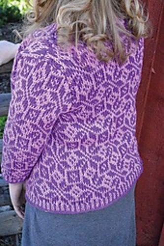 fair isle tunisian crochet sweater | Tunisian Crochet | Pinterest ...