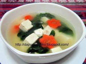 Resep Sup Tahu Putih Welcome To My Kitchen Resep Sup Makanan Resep