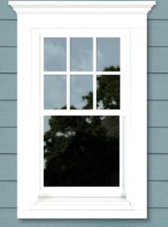 Front Porch Azek Crown Molding In 2020 Window Trim Exterior Windows Design
