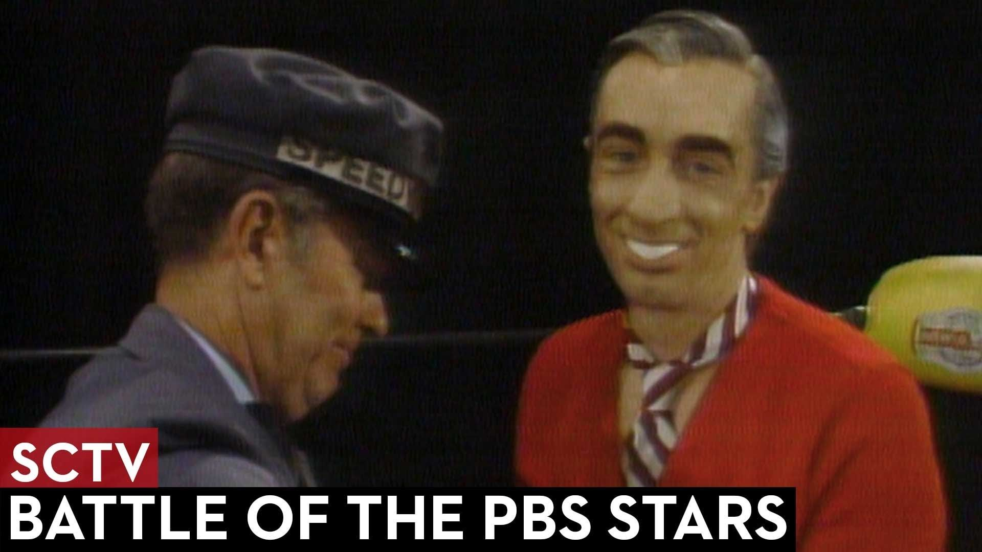SCTV - Battle of the PBS Stars - Mr  Rogers vs  Julia Child | Funny