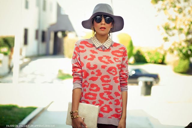 Blogger Taye Hansberry of Stuff She Likes // Featuring #michaelstars wide brim hat