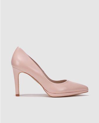 d6ac73b1102 Zapatos de salón de mujer Gloria Ortiz de piel rosa | Boda | Zapatos ...