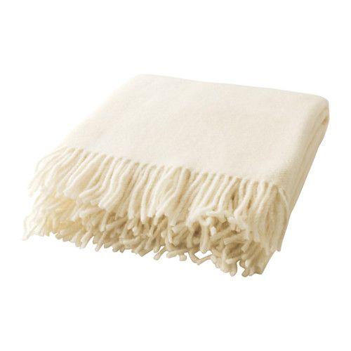 IKEA - BRÄNNÄSSLA, Pledd, Laget av ren, ny ull. Pleddet er mykt og slitsterkt.Ull er smussavvisende, slitesterkt og har god isoleringsevne.