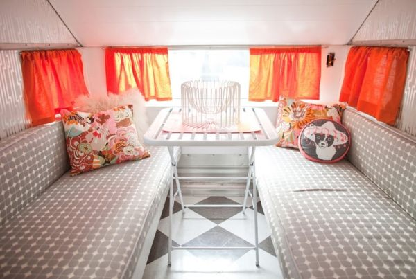 Camper interior decorating ideas unique rv country living by guida also rh pinterest