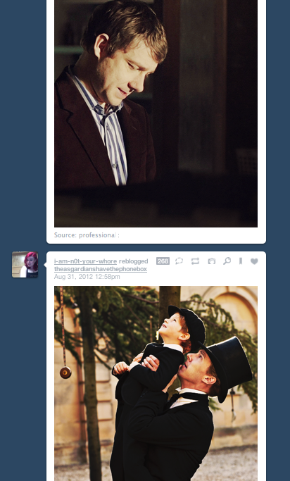 """""""Look, honey, there's your dad.""""  """"Sherlock, put Hamish down, and take off that ridiculous hat. In that order."""""""