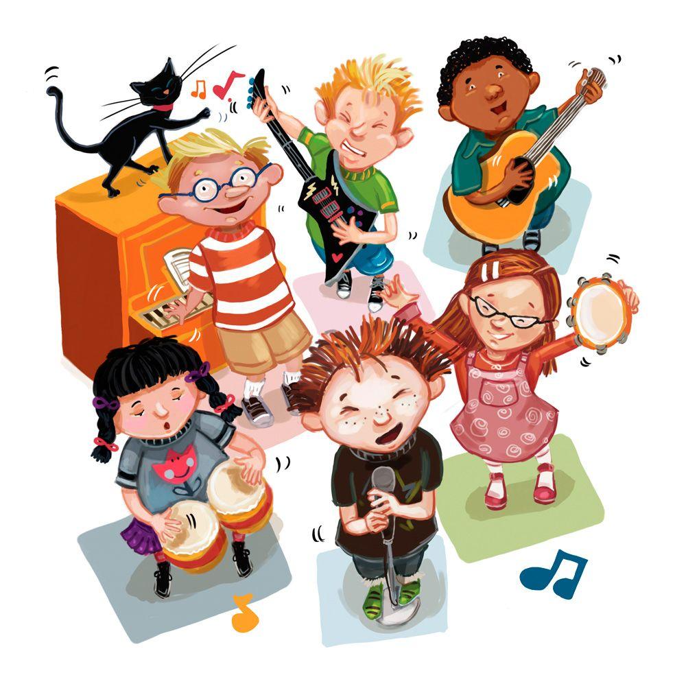Colleen Madden | | Musica para niños, Escuelas de musica, Dibujos para  preescolar