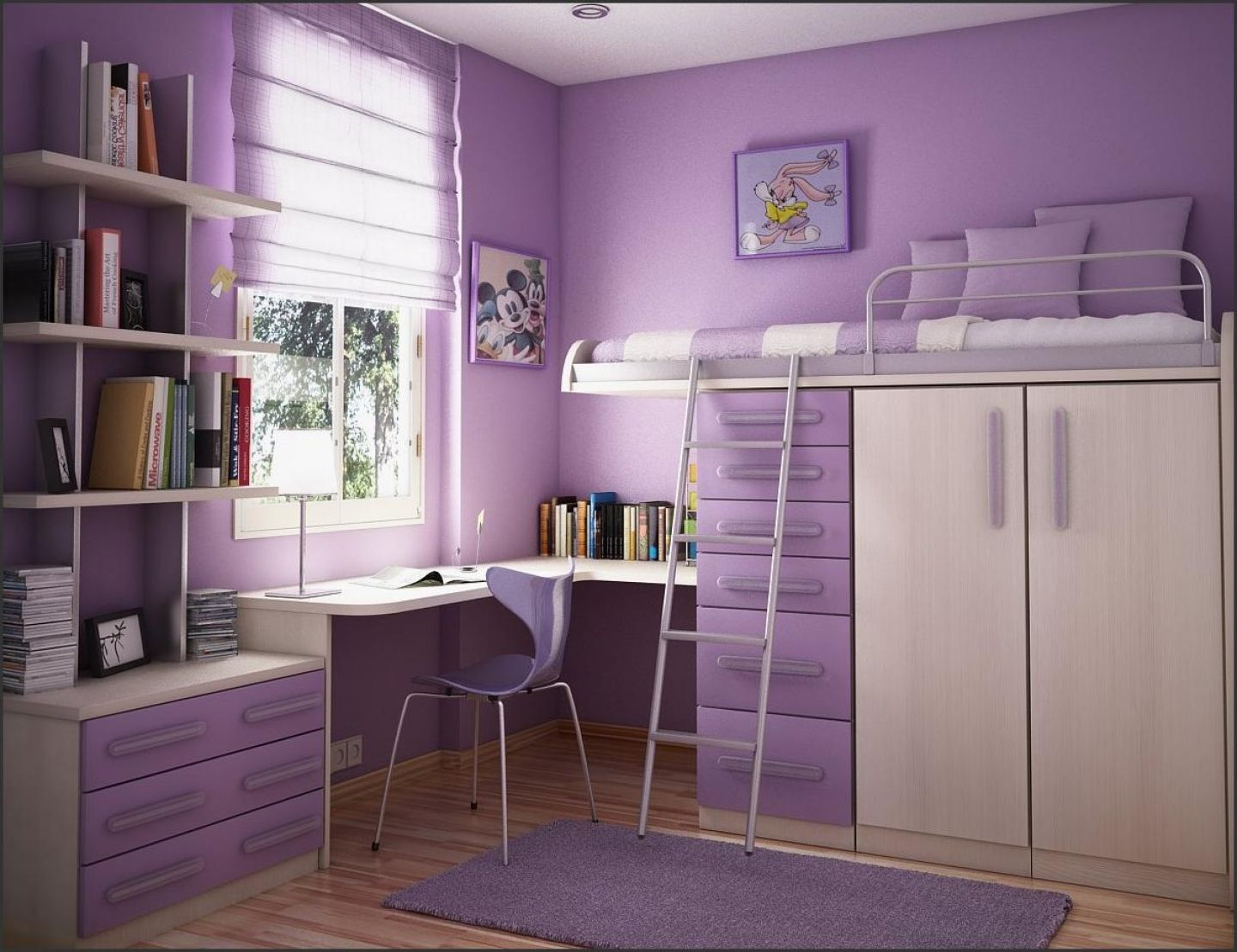Bedroom Decorating Ideas Purple Walls how to pick top class bedrooms designs | awesome home decoration