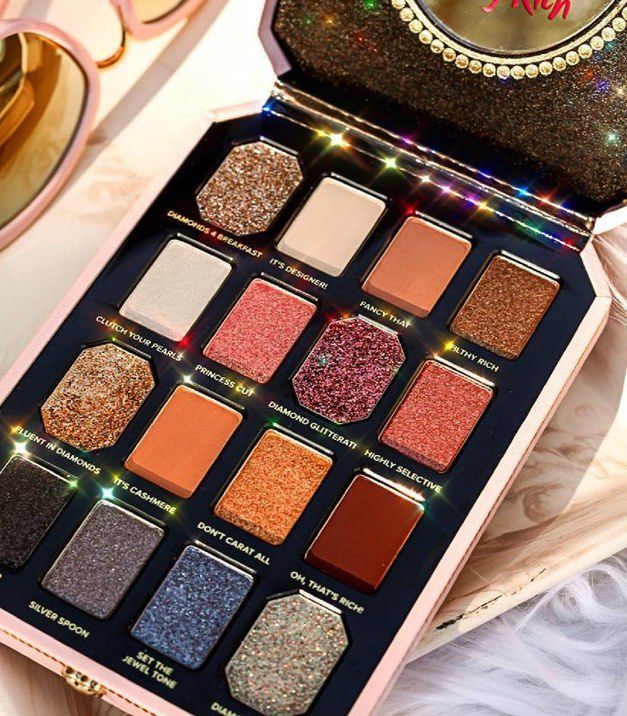 Get your first look at Too Faced's 'Pretty Rich' makeup collection