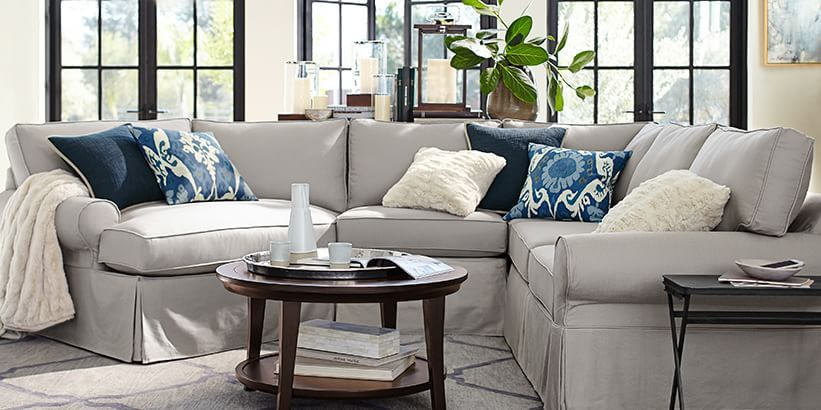 Pb Basic Collection Amp Simple Sofas Pottery Barn Finally