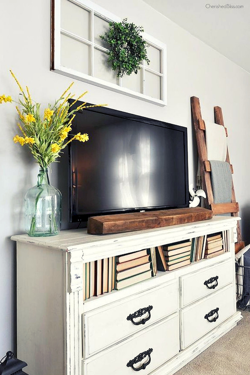 10 Bautiful Farmhouse Tv Stand Dsign Ideas And Decor Tv Stand Decor Living Room Tv Wall Decor Above Tv
