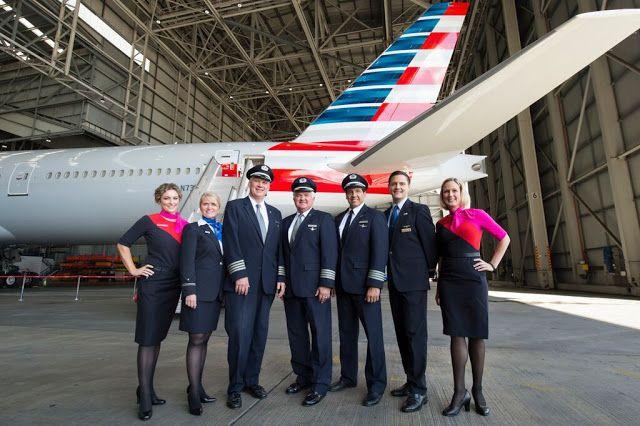 FlightMode JOBS Japanese English Bilingual Cabin Crew American Airlines  FlightMode