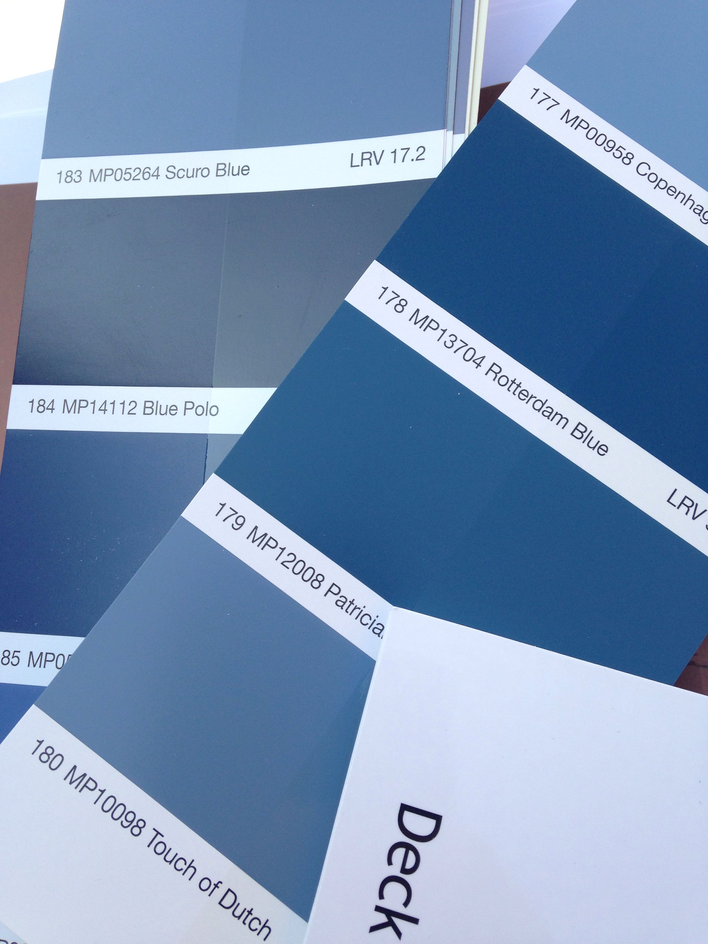 Pulling Matthews Paint swatches for a recent project.