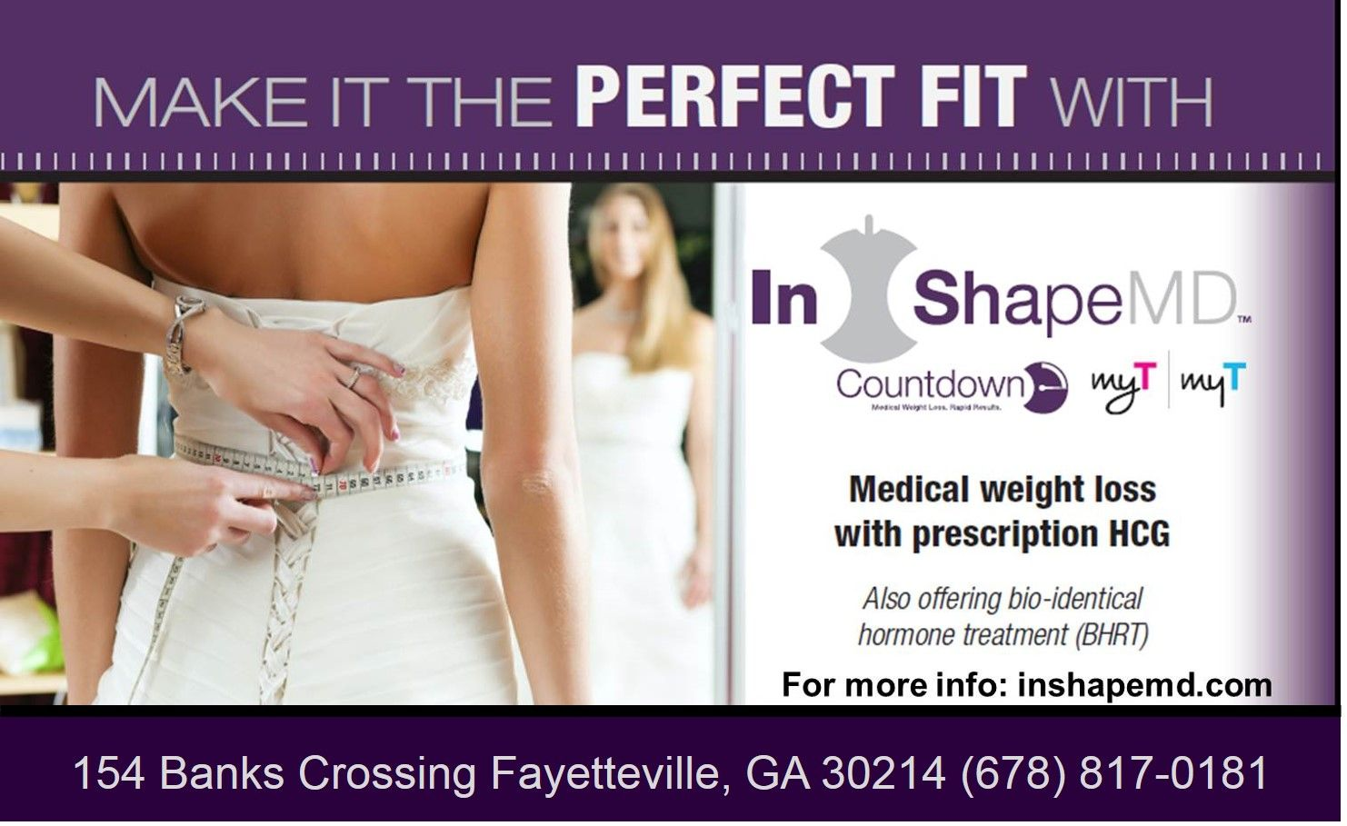 Call Inshapemd Fayetteville Today 678 817 0181 Medical Weight
