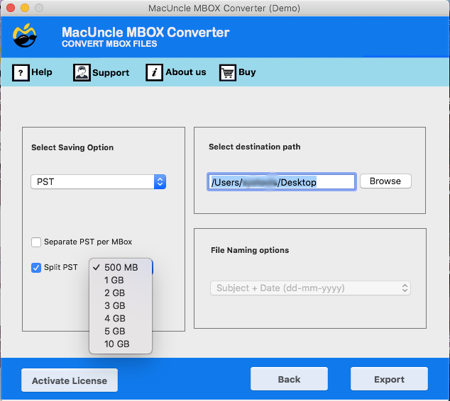 Mac Apple Mail to PST Converter for Mac OS is the perfect