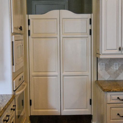 French country half swing door to separate the dining room - Doors to separate kitchen from living room ...