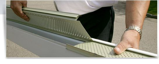 Alu Rex Products Rain Gutter Solutions Leaf Guards