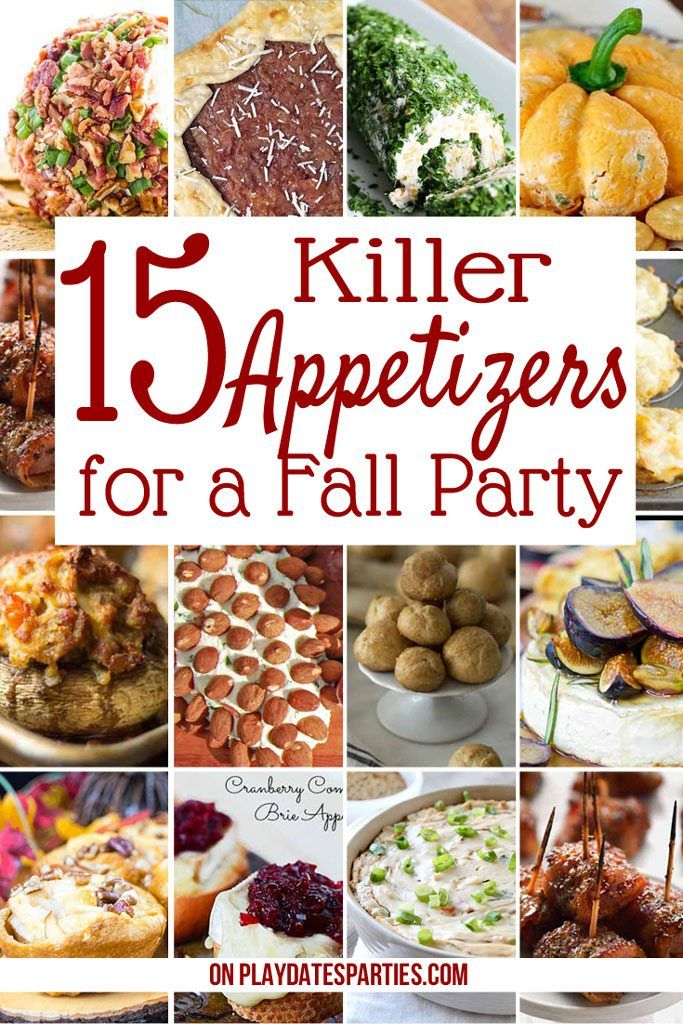 15 Killer Fall Appetizers for Crowd | Recipes You Need to Make