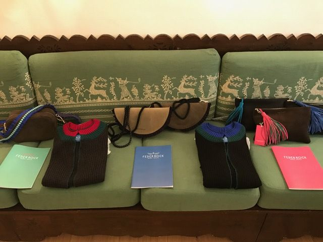 impressions bags knitwear colorful joy handmade in Bavaria leather couture luxury fashion