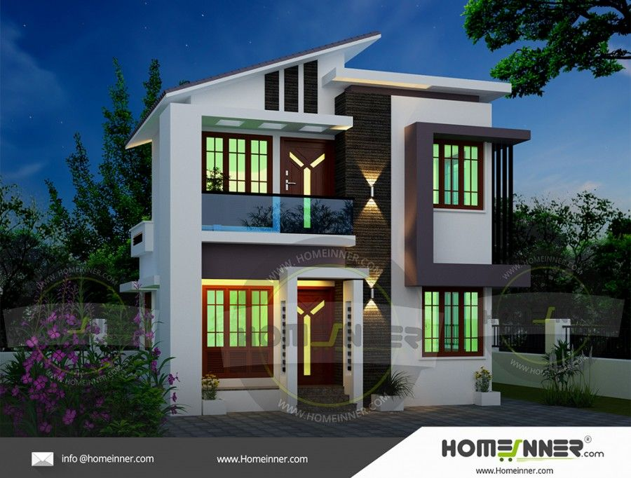 900 Sq Ft Small Indian Home Design Indian House Plans Small
