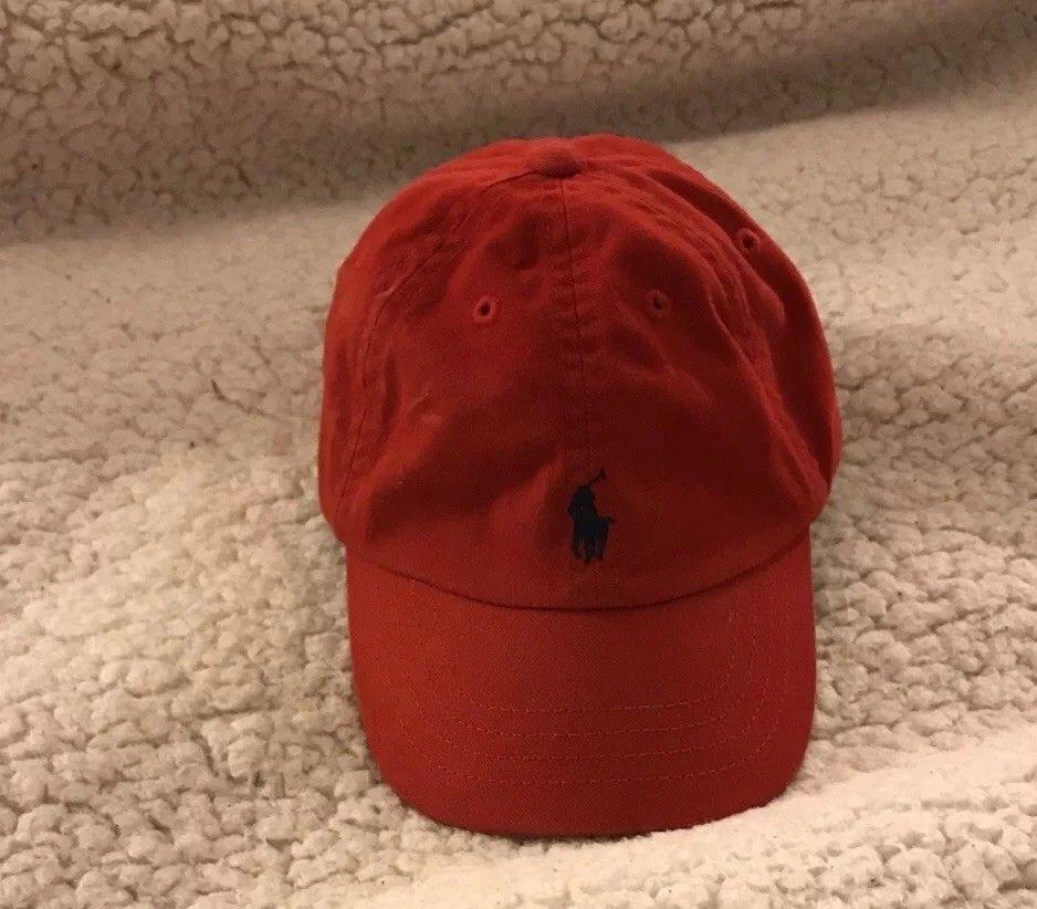 48ebed1ab Details about Polo Ralph Lauren Elastic strap Pony Logo Baseball Cap ...