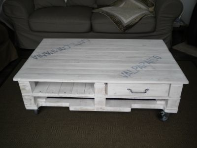 Great Very Nice Pallet Table!