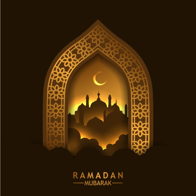 Beautiful Door With Reflection And Mosque Door Mosque Gold Png And Vector With Transparent Background For Free Download Deco