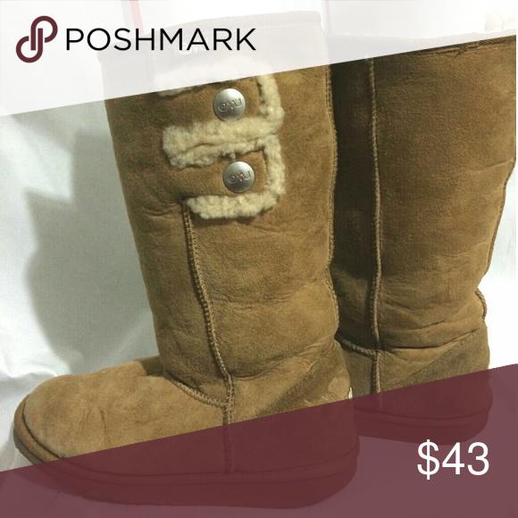 c72fb9179c1 EMU Suede Sheepskin Boots Women's Size 8 (Men's 7) US Size: Women 8 ...