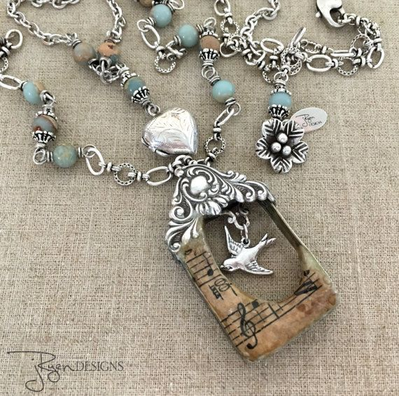 Unique birdhouse necklace handmade soldered pendant necklace unique birdhouse necklace handmade soldered pendant necklace by jryen designs jryendesignssy aloadofball Images