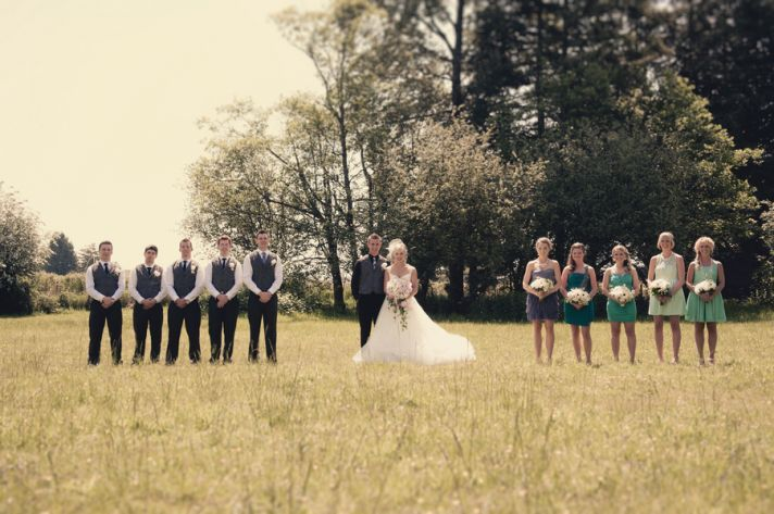 Vintage-Country Chic Fusion in Vancouver, BC | Rustic ...