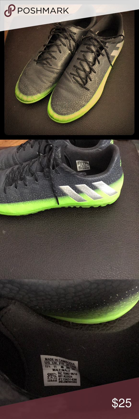 Adidas Messi 16 3 Indoor Soccer Shoes 11 5 Adidas Messi 16 3 Indoor Soccer Shoes Adidas Shoes Athletic Shoes Soccer Shoes Adidas Sneakers Nike
