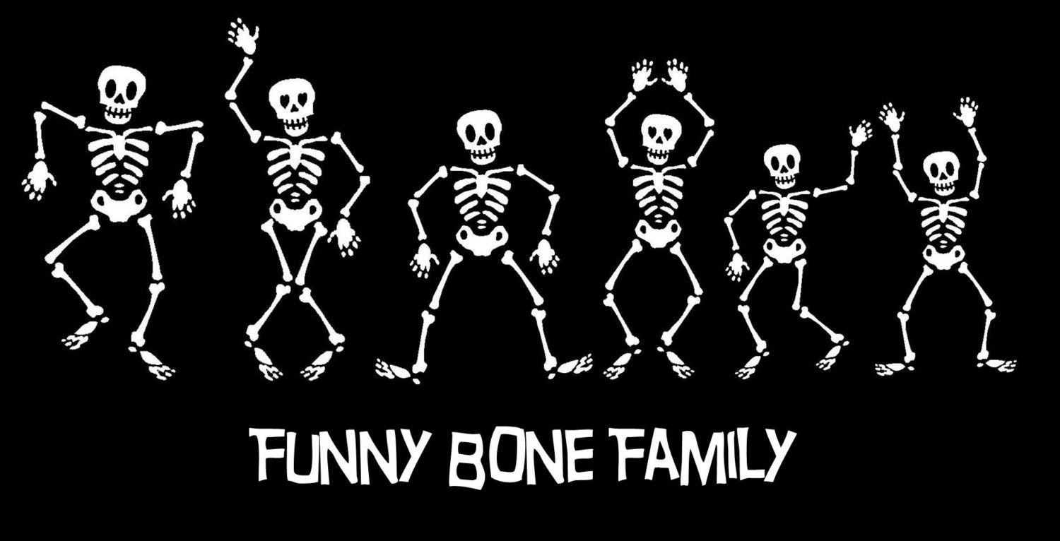 Skeletons Family Car Decals Family Stickers Bones Funny [ 766 x 1500 Pixel ]