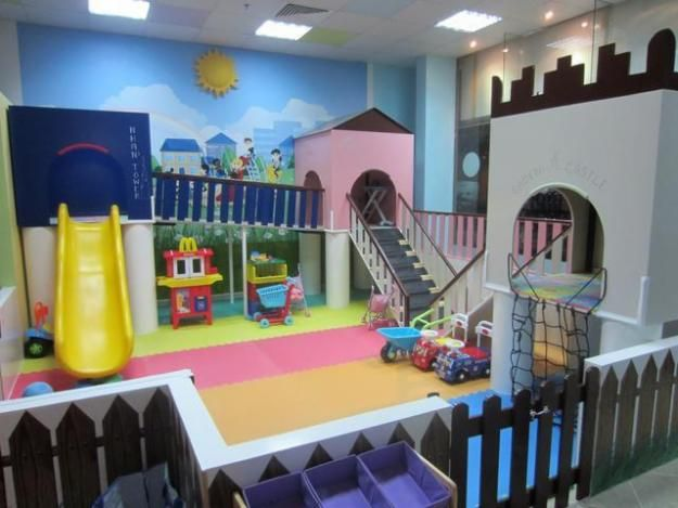 A play area fit for royalty