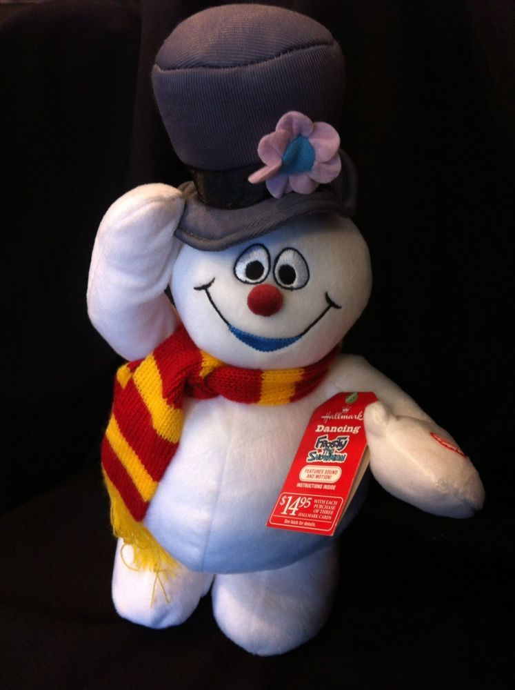 Dancing Frosty The Snowman : dancing, frosty, snowman, Hallmark, FROSTY, SNOWMAN, Animated, Singing, Dancing, Christmas, Plush, Snowman, Animation,, Plush,, Frosty, Snowmen