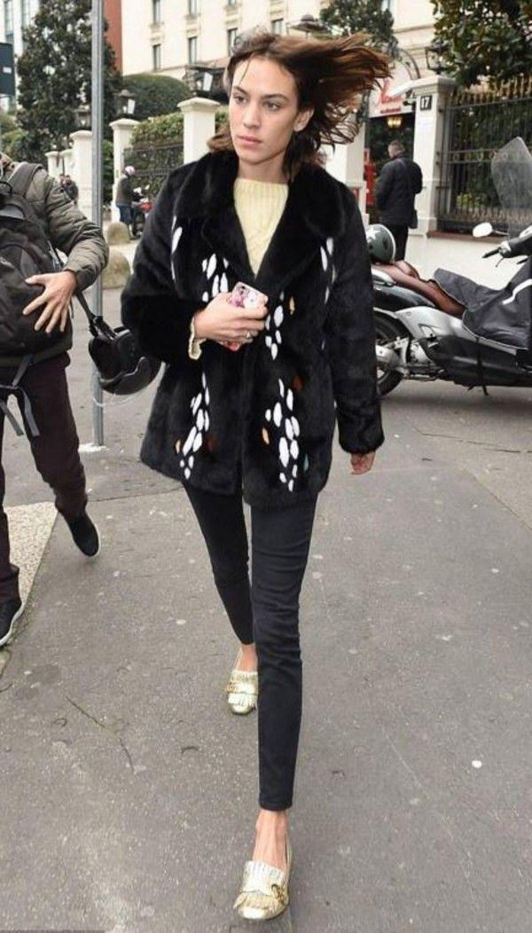 Alexa Chung gucci shoes