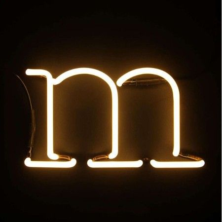 Seletti - Neon Art - Letter Lamp - M - Woonkamer sfeer | Pinterest ...