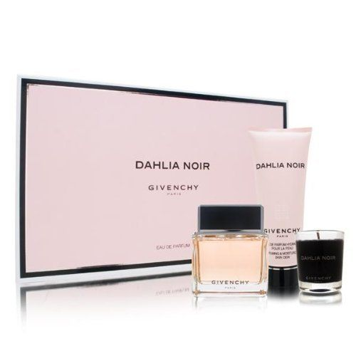 Dahlia Noir by Givenchy for Women 3 Piece Set Includes: 2.5