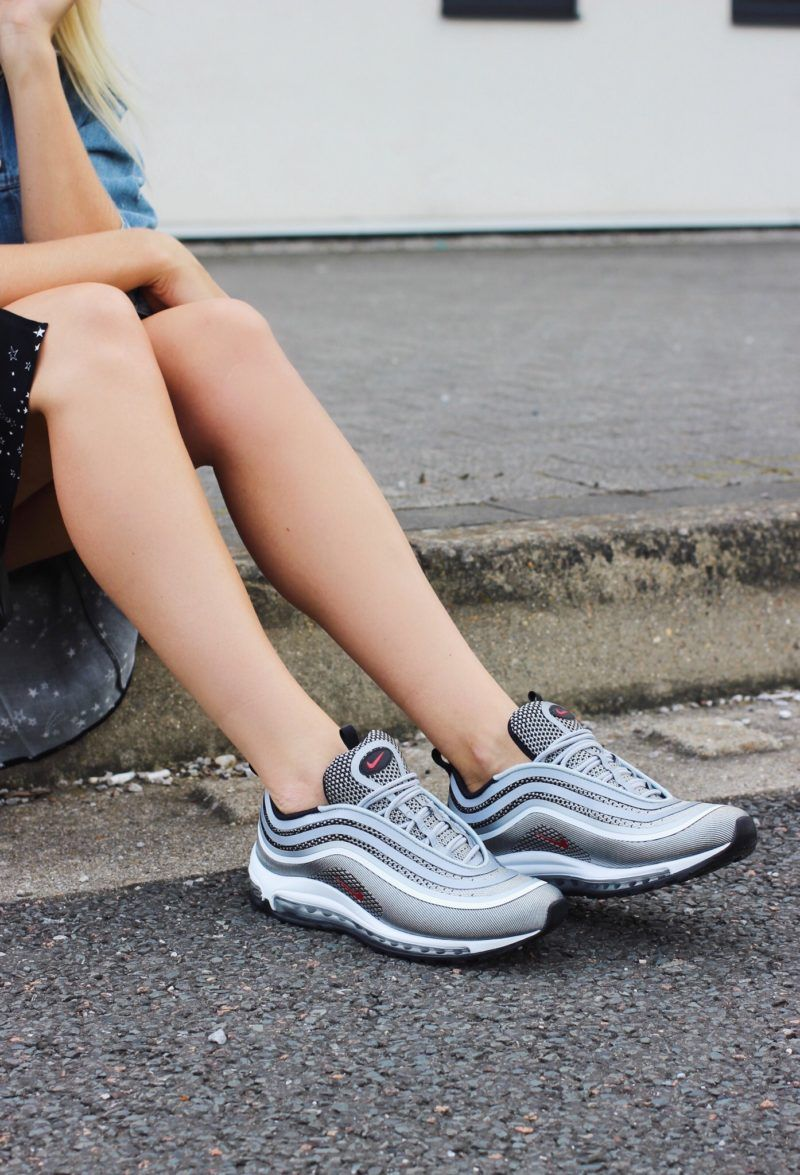 Nike Air Max 97 Ultra Silver Bullet Review Try On Size Guide On Style Blog Nike Air Max 97 Nike Air Max Fashion