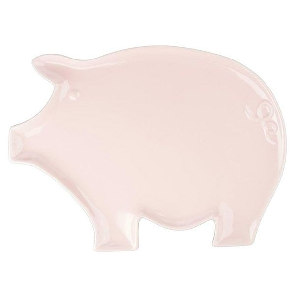 Pig Shaped Dinner Plate Pink Porcelain  sc 1 st  Pinterest & Pig Shaped Dinner Plate Pink Porcelain | I Love Pigs! | Pinterest ...