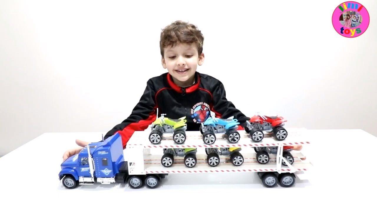 لعبة شاحنات النقل الكبيرة للاطفال واجمل العاب السيارات للبنات والاولاد و Toys Toy Car