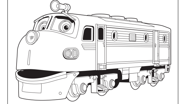 Wilson | Disney Junior | Braden party | Train coloring pages ...