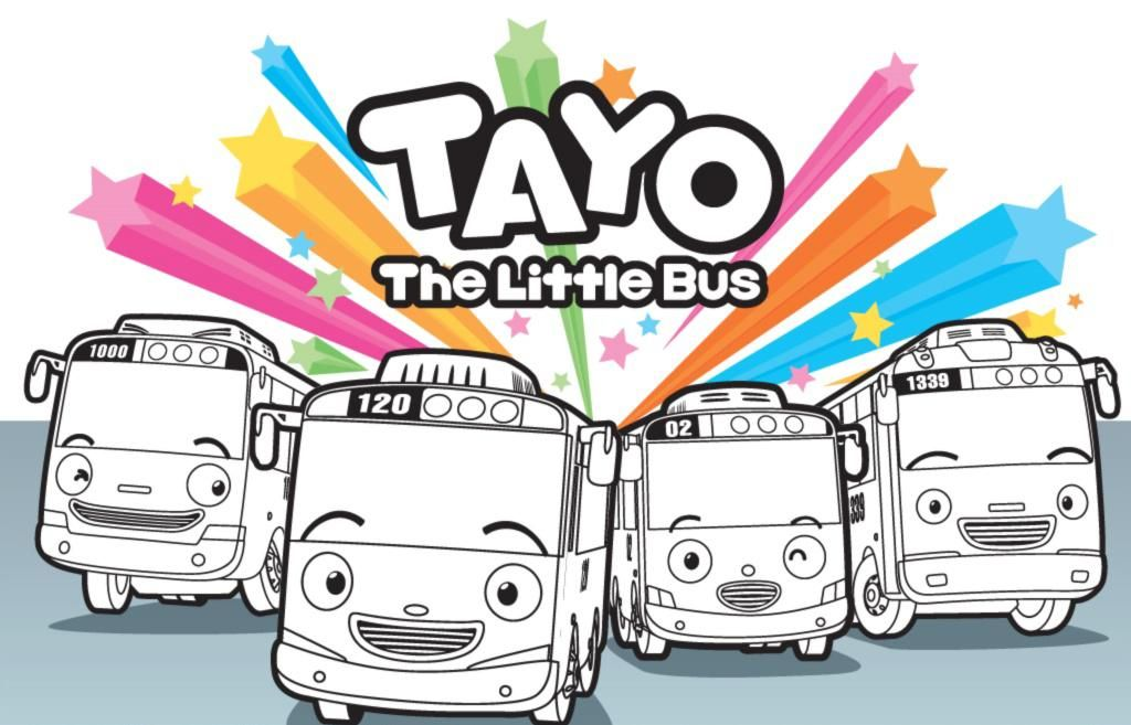 Resultado De Imagen Para Tayo Little Bus Printable
