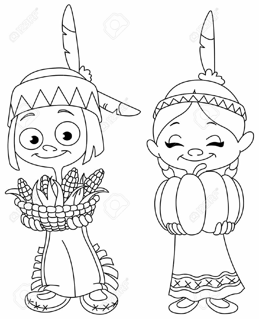 66 Indian Boy And Girl Coloring Pages Download Free Images