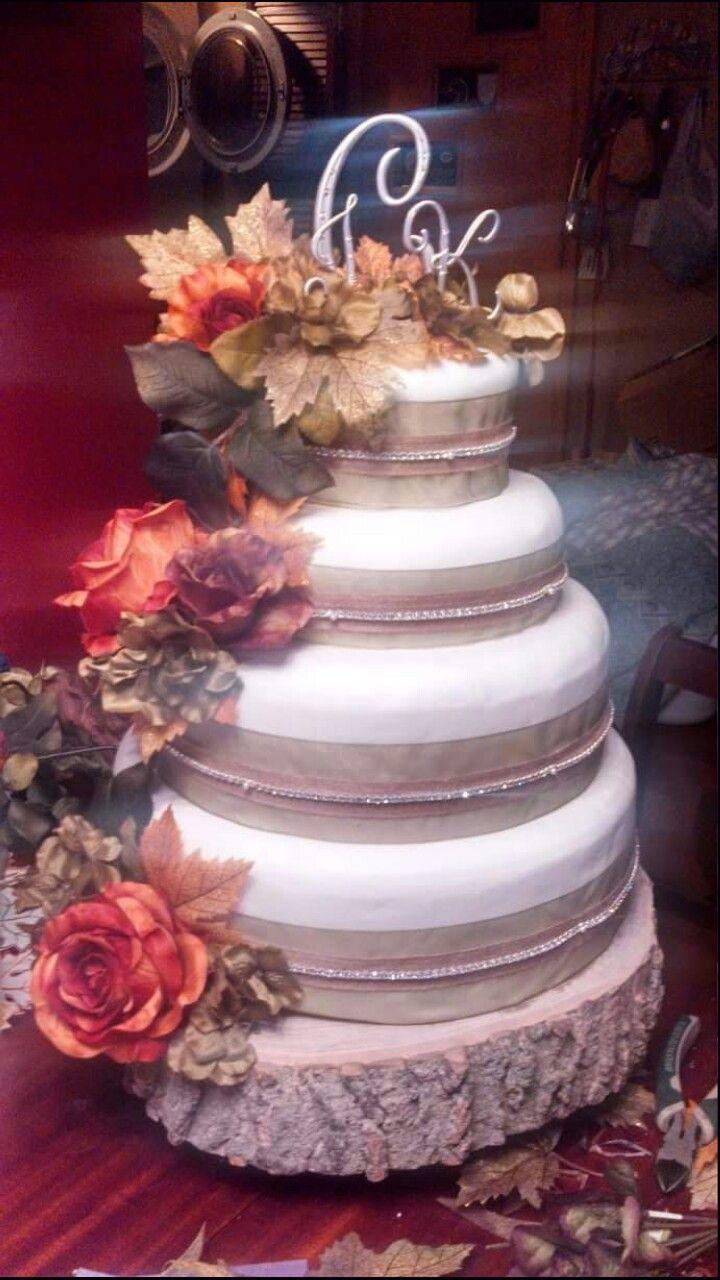 Rustic glam wedding cake wedding cakes pinterest wedding cake