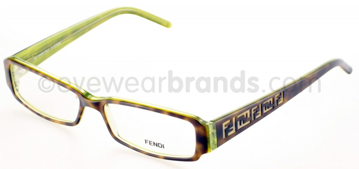Green+Designer+Eyeglass+Frames | ... /GREEN Fendi Glasses | Fendi ...