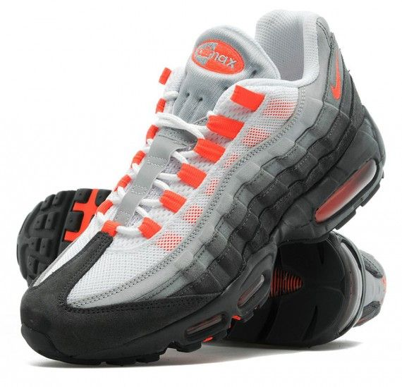 Nike Air Max 95 Anthracite Crimson Sneakernews Com With