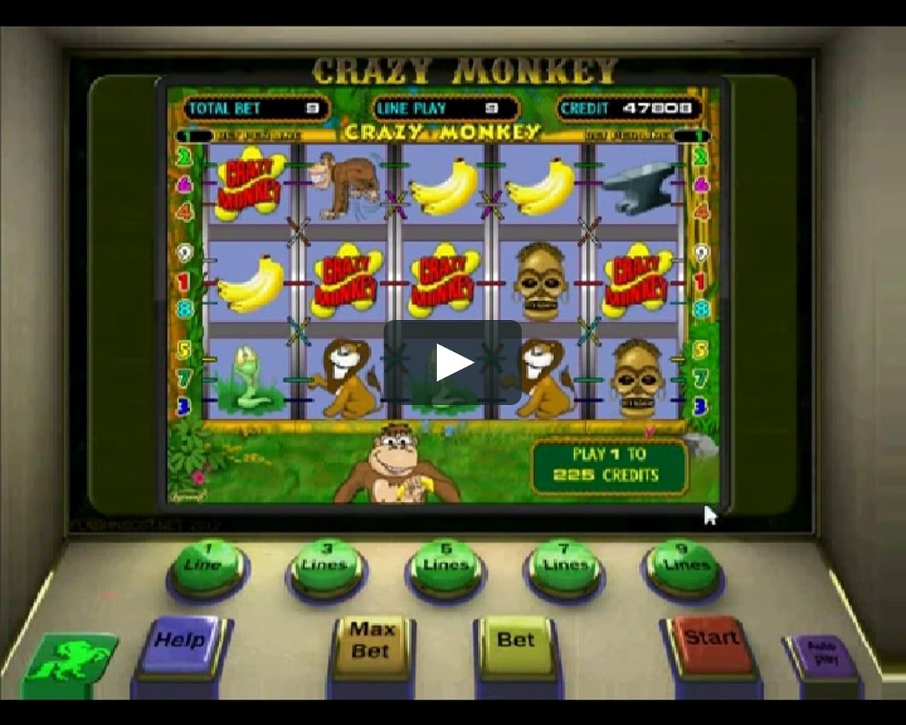 Игровые аппараты мартышки продать казино