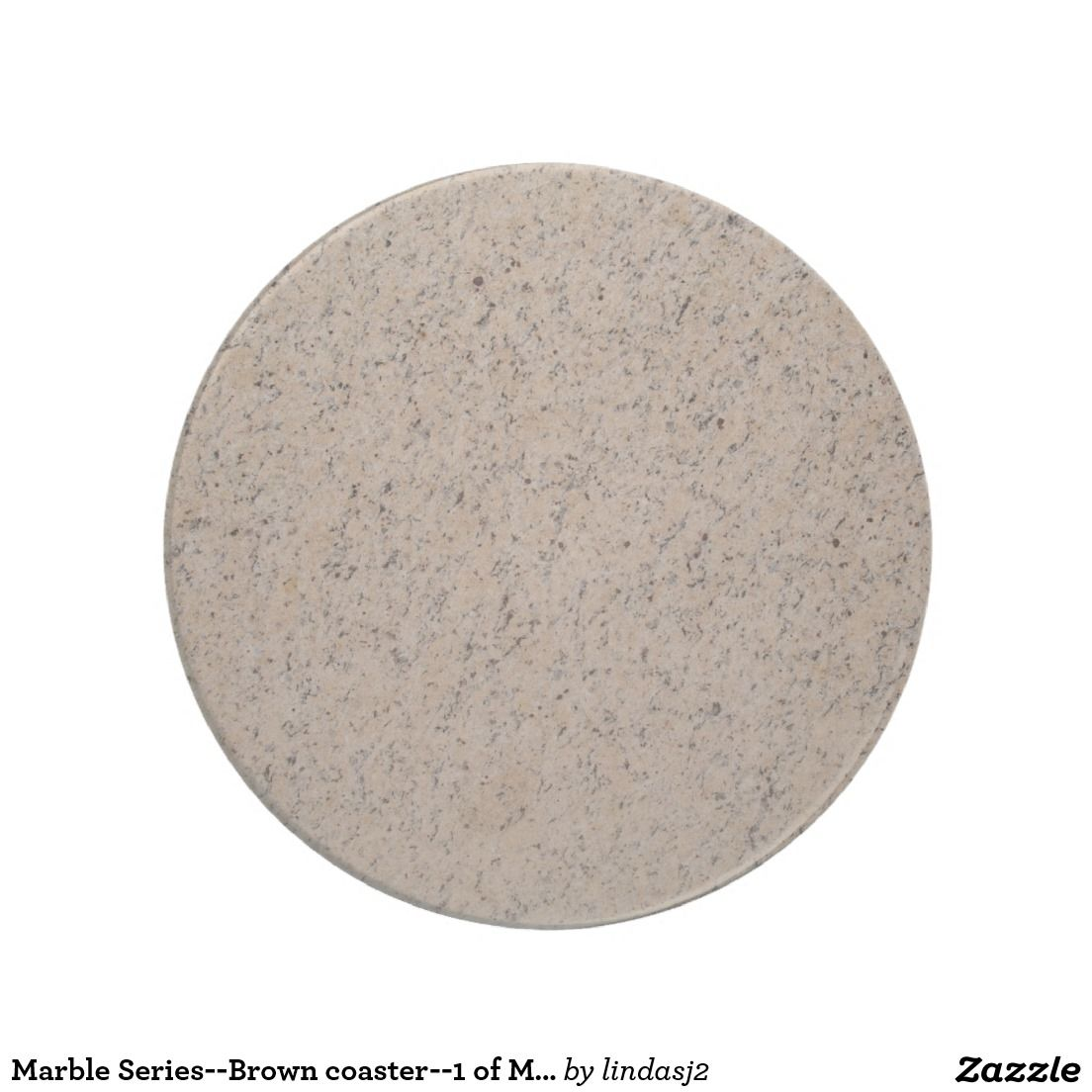 Marble Series--Brown coaster--1 of Many Colors Coaster