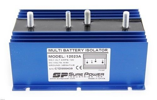 sure power multi battery isolator wiring diagram: other car a v installation:  sure power 12023a